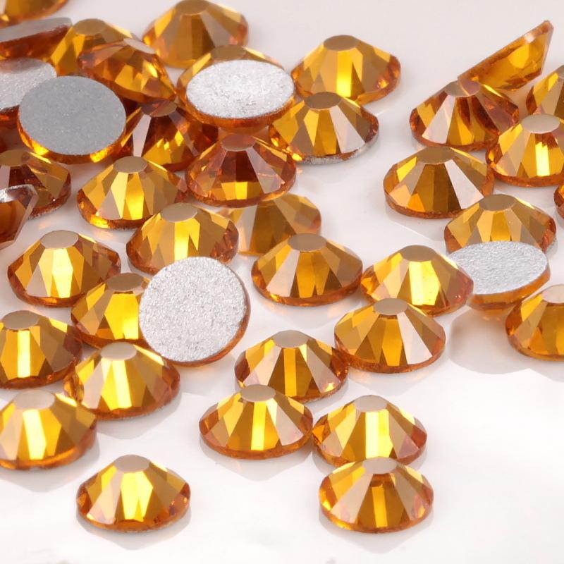 Flatback Rhinestones Glass Diamantes Gems for Nail Art