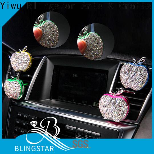 Blingstar luxury gold glitter steering wheel cover manufacturers for car