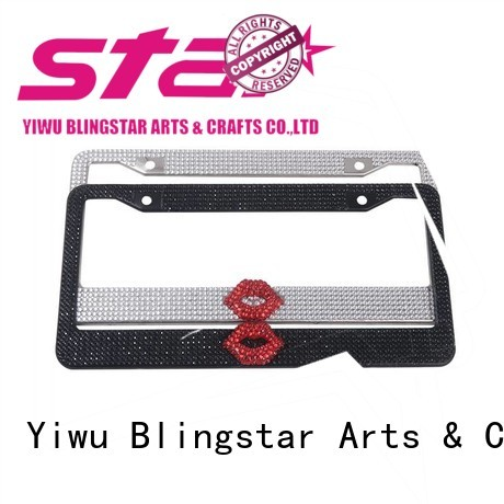 Best diamond license plate frame frames overseas market for car