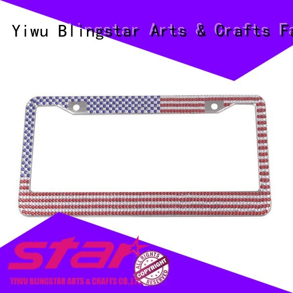 High-quality car license plate frame handcrafted oem for car