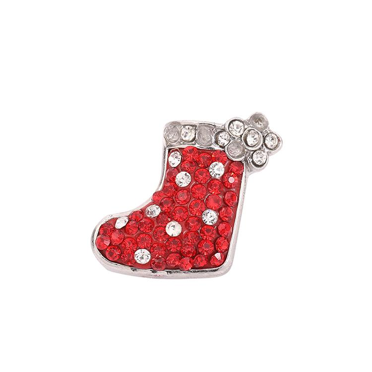 Diamonds Bracelet Accessories Studded Christmas Button