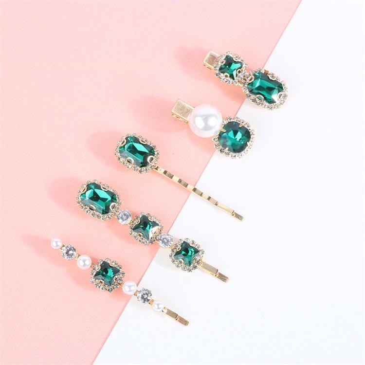 Custom High Quality Diamond Hair Clip For Girls