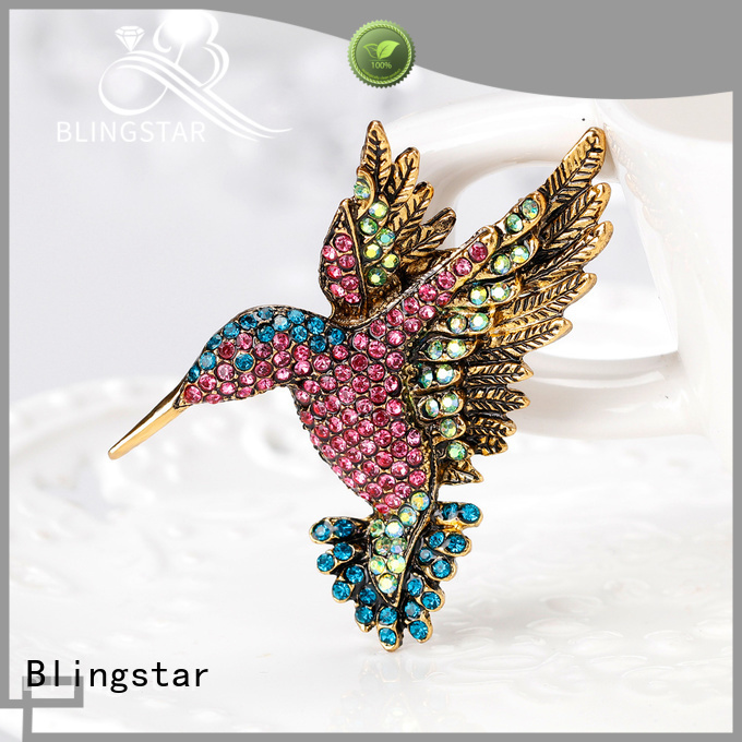 Blingstar end rhinestone embellishments for women