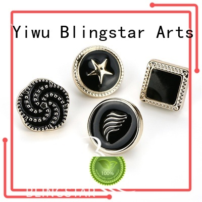 Blingstar arrival pearl diamante buttons factory for cloth