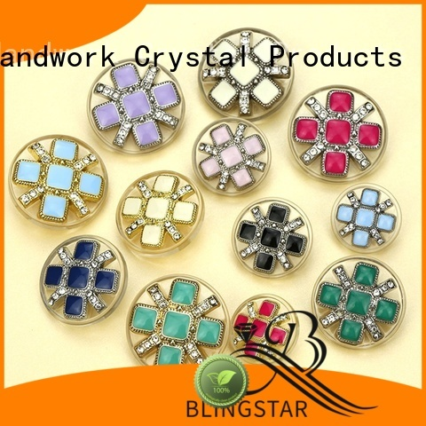 Best mother of pearl buttons crystal bulk production for women