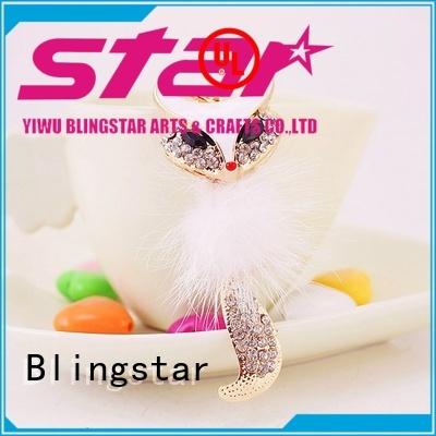 Blingstar girls keyring bling for business for key