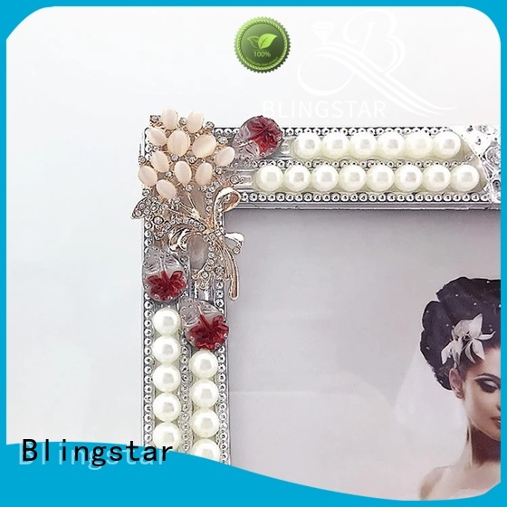 high quality diamond photo frame creative for family photo