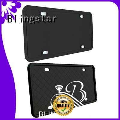 Blingstar aa Rhinestone License Plate Frames near me custom for car license