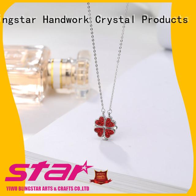 Blingstar durable rhinestone brooch pin factory price for women