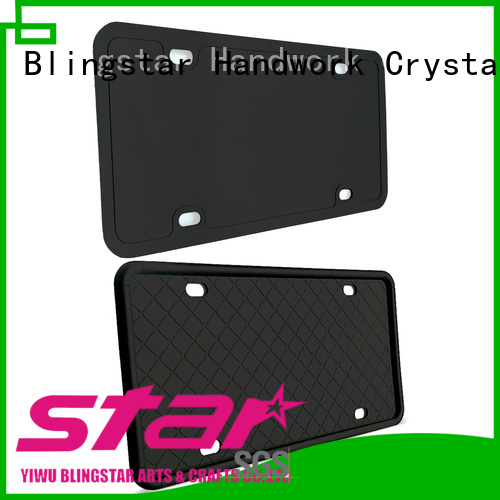 Top diamonds license plate frame bling for business for car license