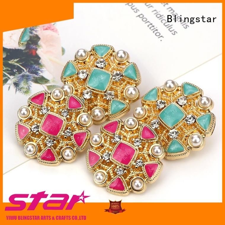 New pearl and rhinestone buttons style Supply for women