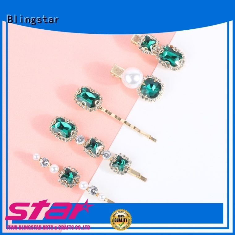 Blingstar handmake antique brooches and pins overseas market for girl