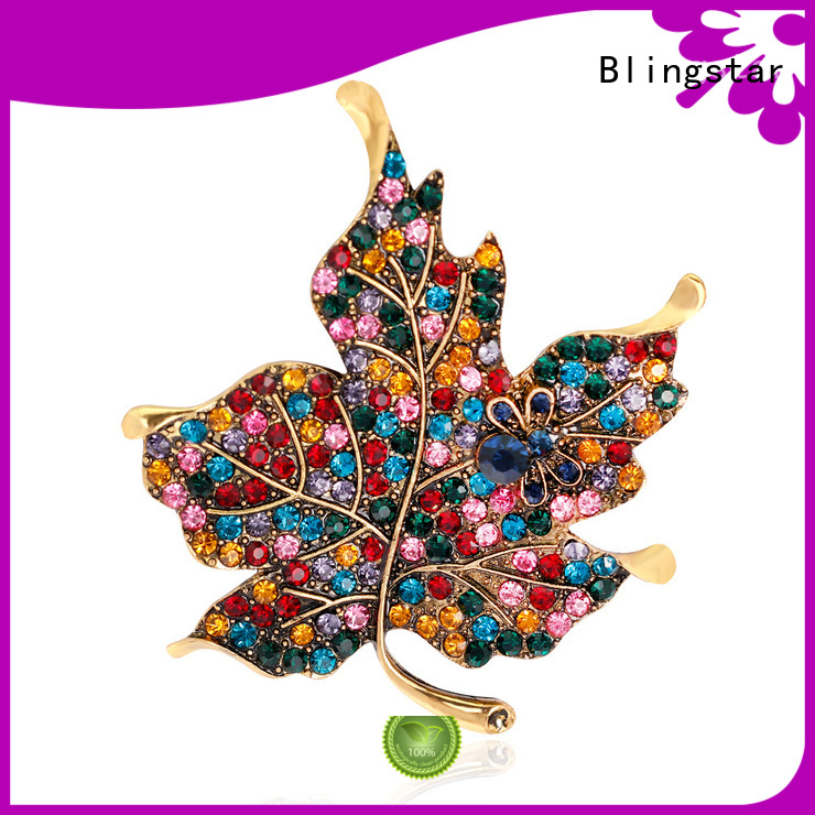 Best bling brooch sika company for women