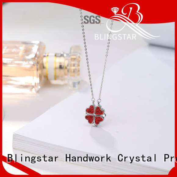 Blingstar pin vintage rhinestone brooches wholesale manufacturers for women