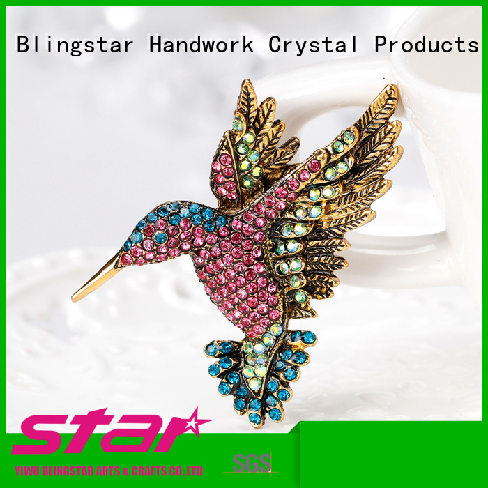 Blingstar imitation Brooch from supplier for girl