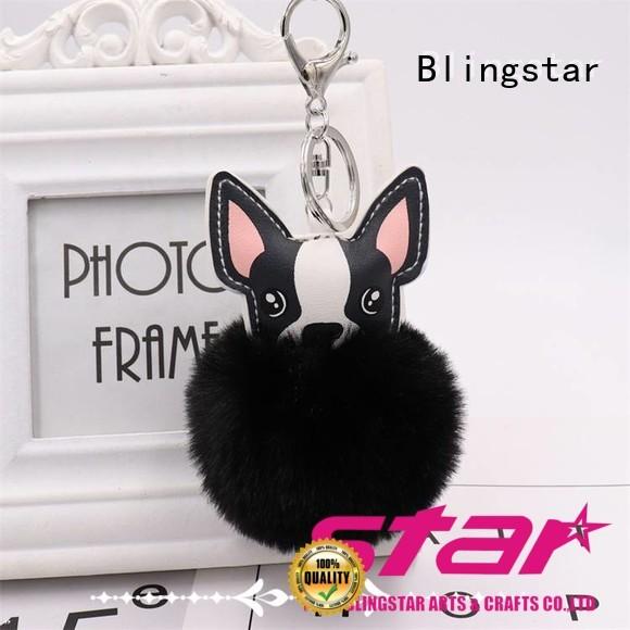 Blingstar girls diamond key chain set from supplier for key