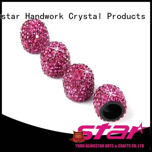 Blingstar high quality rhinestone car accessories factory price for auto