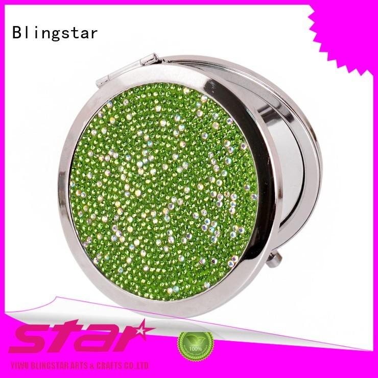 Blingstar base floating diamond mirror manufacturer for makeup mirror