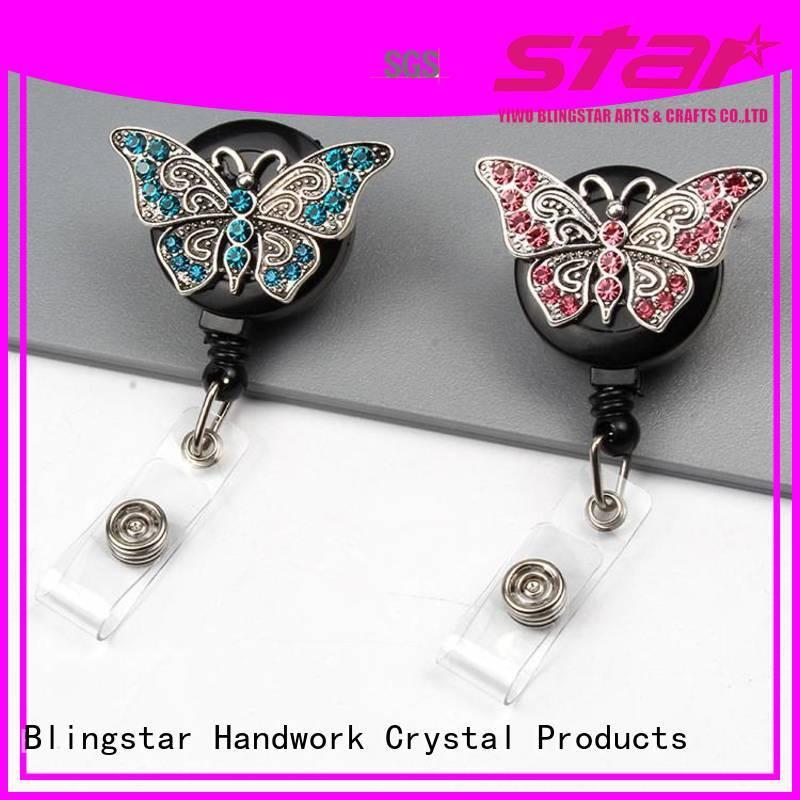 Blingstar women diamond key chain Suppliers for key