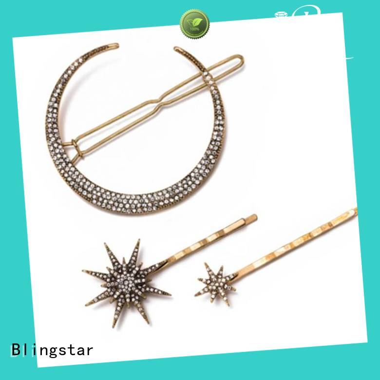 Best pearl rhinestone brooch clips factory price for girl