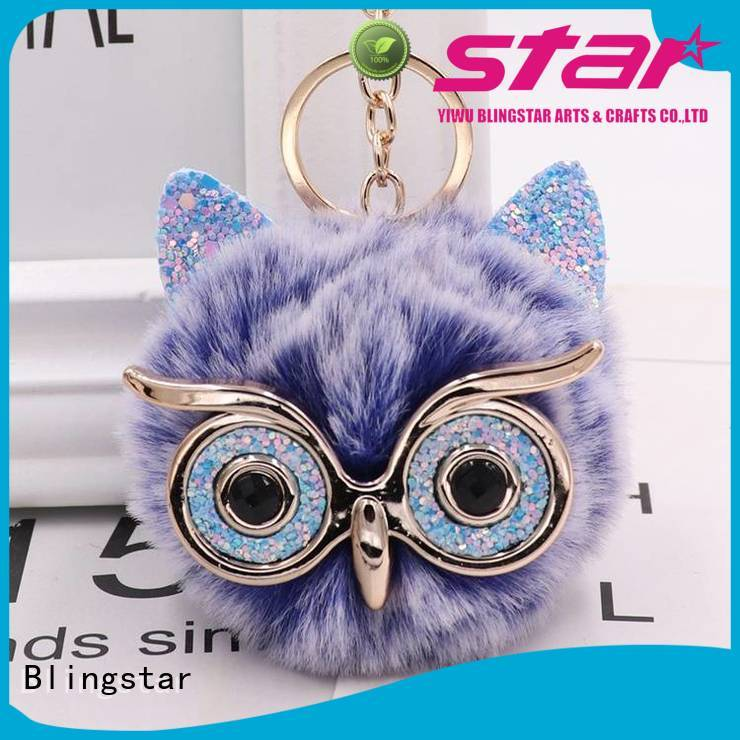 Blingstar alloy diamond key chain manufacturer for key