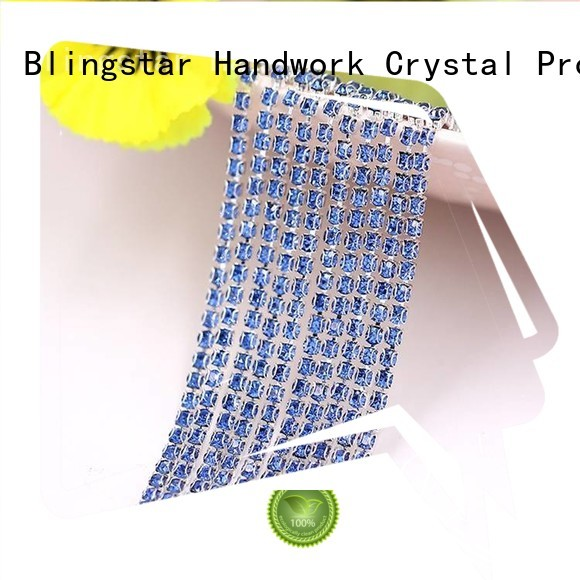 Blingstar handmake paste rhinestones marketing for makup set