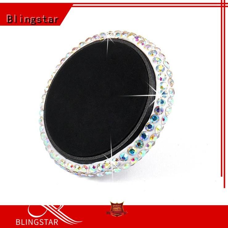 Blingstar Best diamond license plate frame bulk production for car