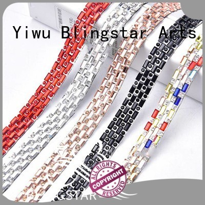 shine vintage rhinestone jewelry nonthermal factory price for makup set