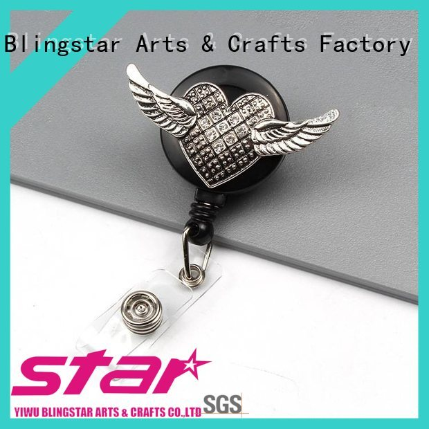 widely used bling name badges multicolor for id card