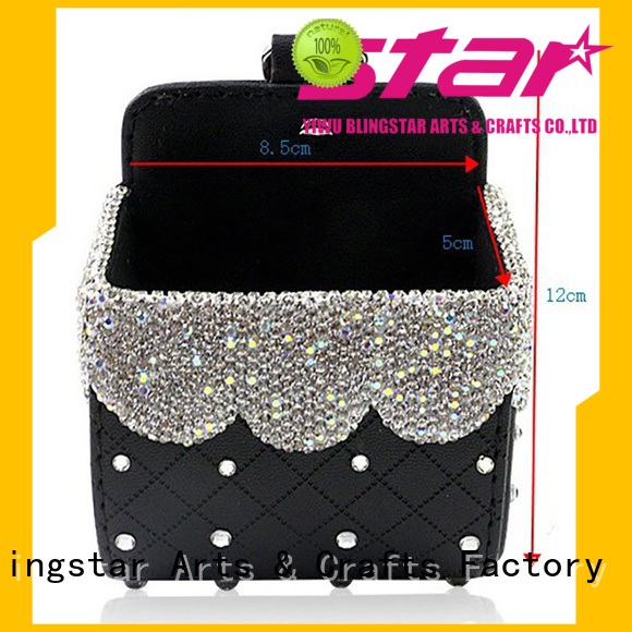 Blingstar fancy design diamond automotive accessories for business for auto