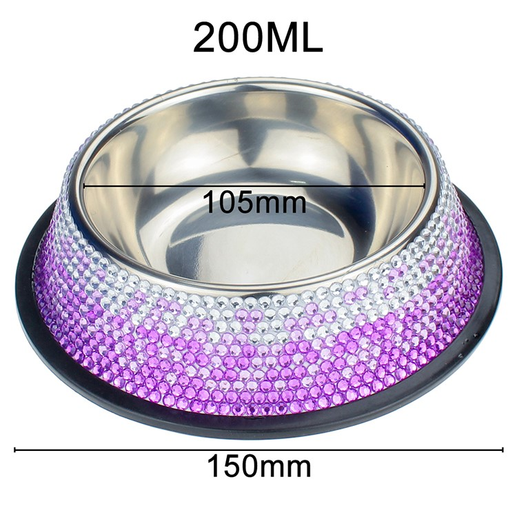 Blingstar durable fancy cat food bowls manufacturers for pet-16
