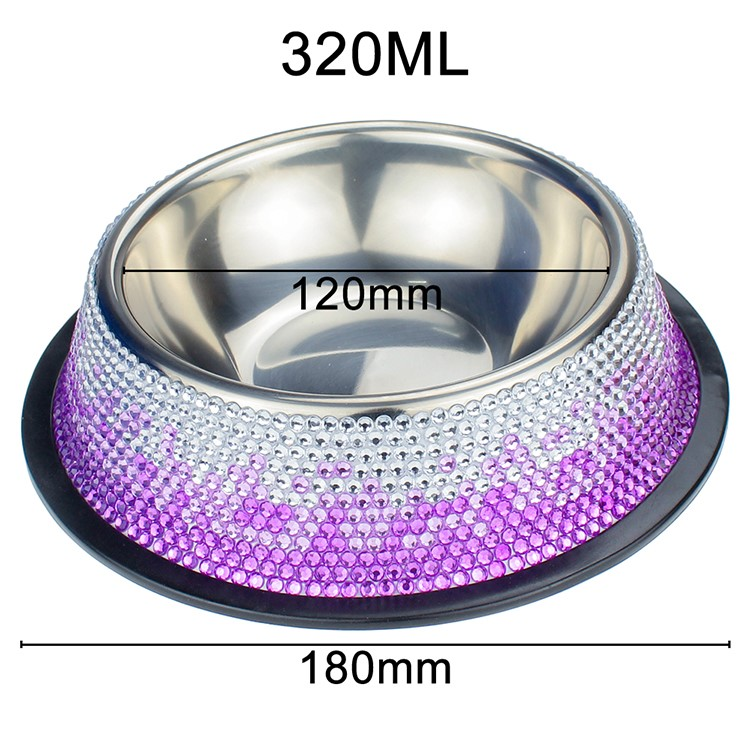 Blingstar durable fancy cat food bowls manufacturers for pet-17