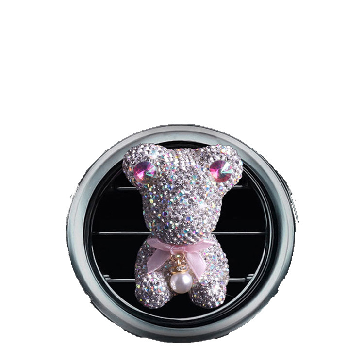 Bling Star Full Diamond Car Air Vent Perfume Fragrance