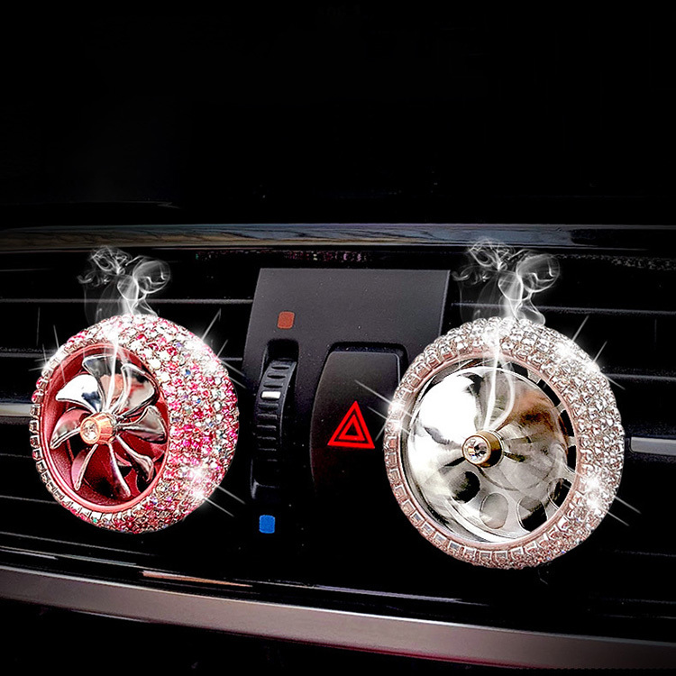 Bling Car Air Conditioner Air Outlet Aromatherapy