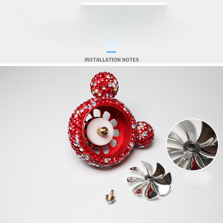 Car Air Conditioner Air Outlet Decoration Clip Diamond
