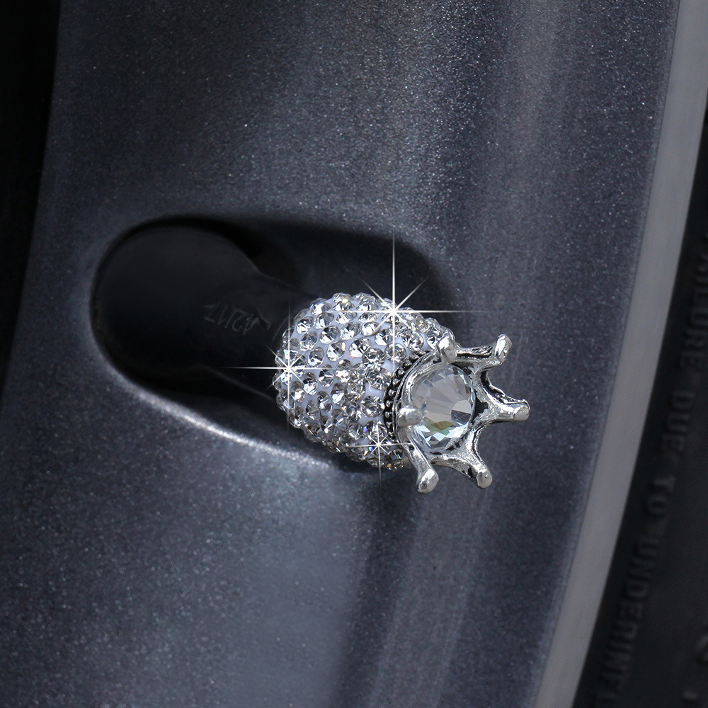Bling Bling Crystal Rhinestone valve cap