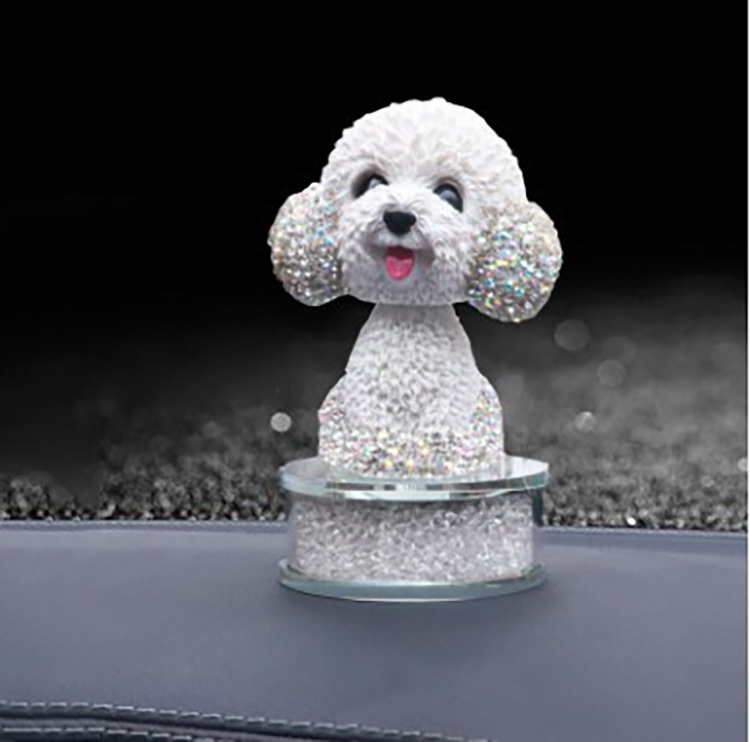 Quality Full Diamond Car Bear Air Vent Perfume Fragrance