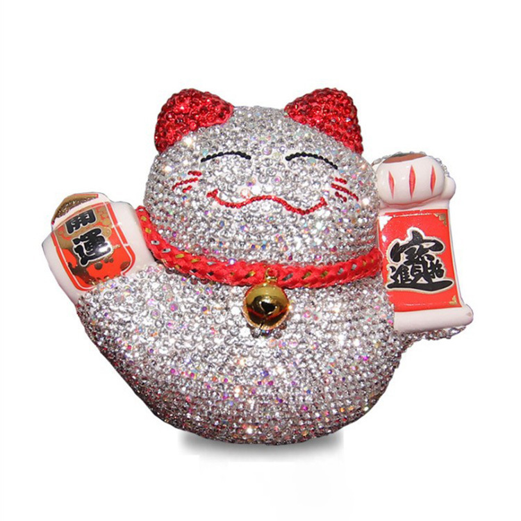 Car Decoration Lucky Cat Car Interior Decoration