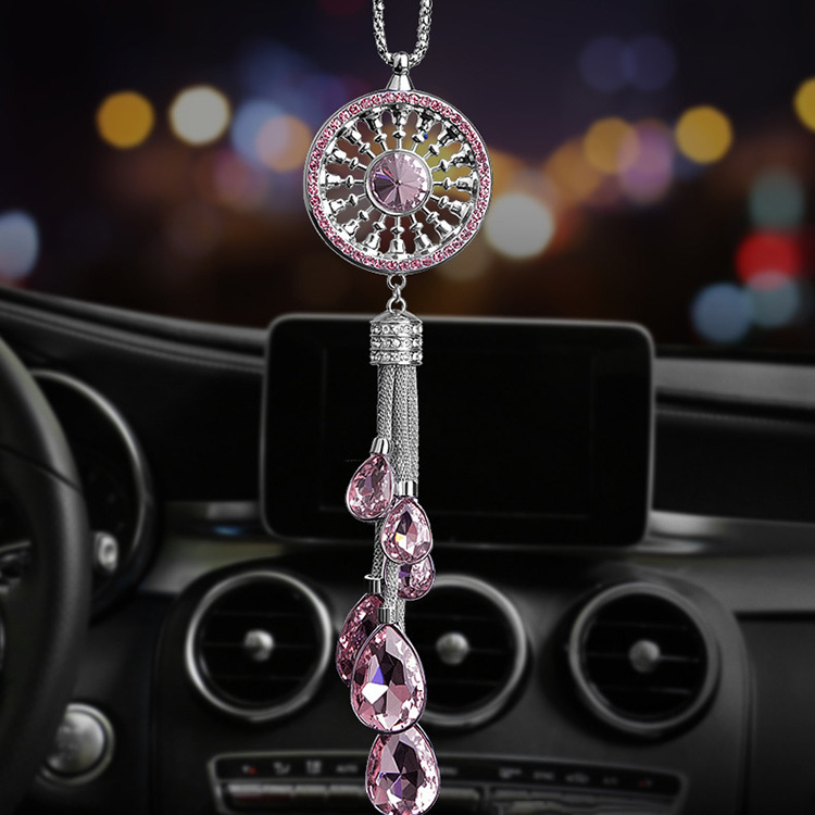 Car pendant crystal creates car interior decoration