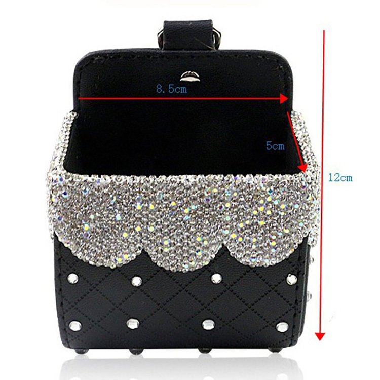 Quality Full Diamond car hanging bag