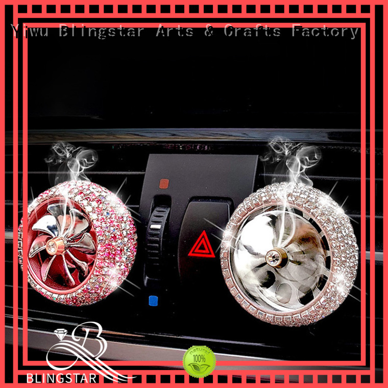 Blingstar High-quality bling car accessories for girls overseas market for auto