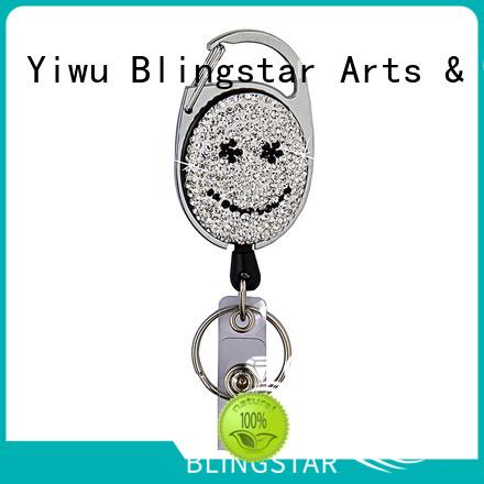 Blingstar key diamante keyring marketing for key