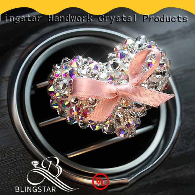 New rhinestone car decals convenient from supplier for auto