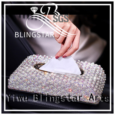 Blingstar rectangle bling accessories for your car factory price for auto