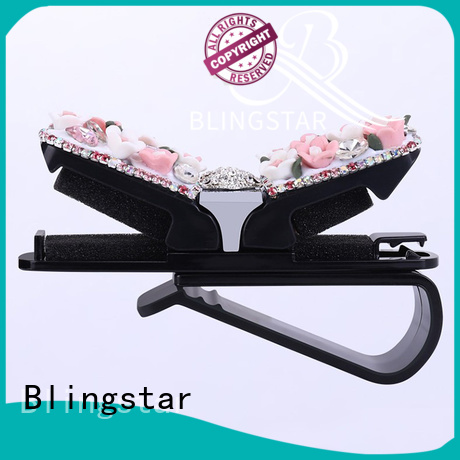 Blingstar fan rhinestone car rims bulk production for auto