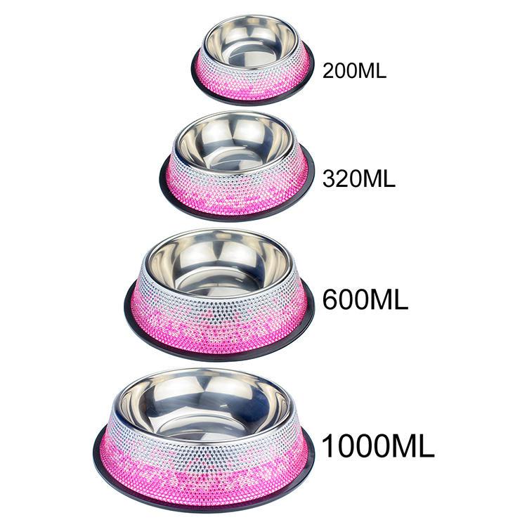 Blingstar bling fancy pet bowls bulk production for pet-1