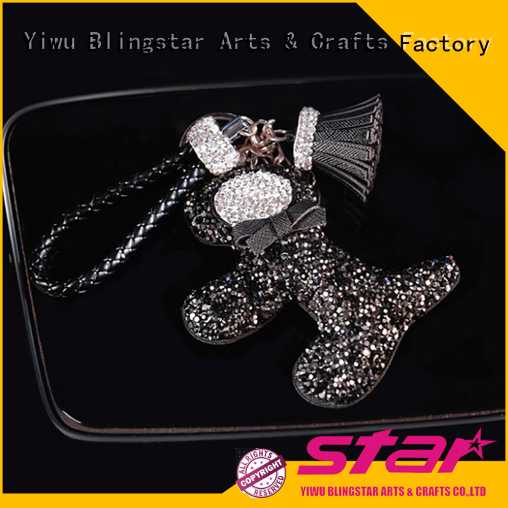 shine Key Chain lovely factory price for key