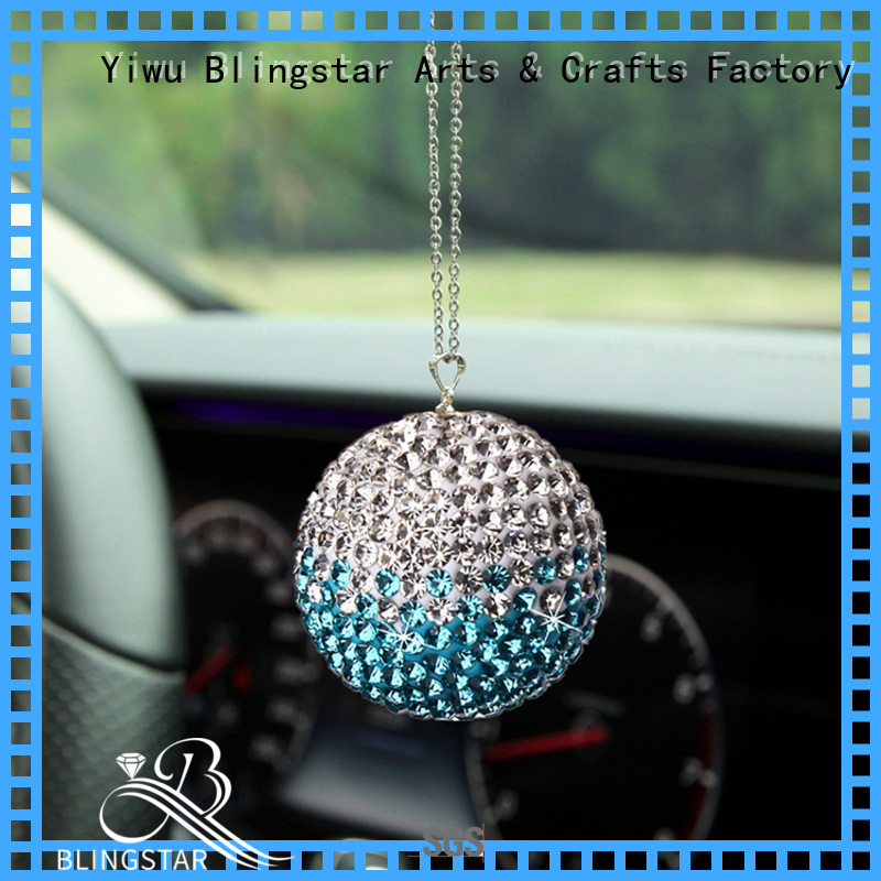 Blingstar Best rhinestone car seat covers from supplier for auto