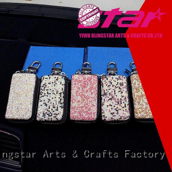 Blingstar fancy design diamond Automotive accessories factory price for car