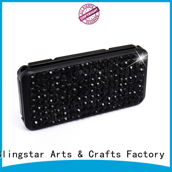 Blingstar aromatherapy crystal number plate frames for car